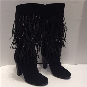 Casadei fringed boots